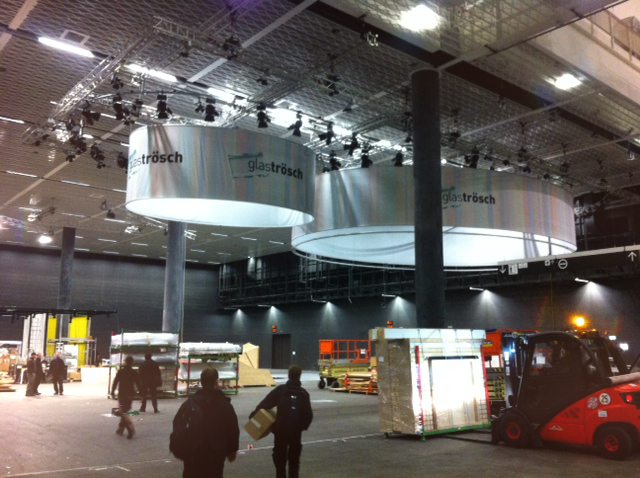 Glas Trösch - Swissbau Aufbau